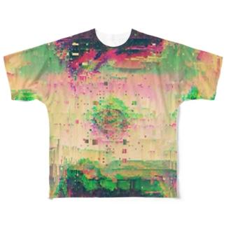『人間疾患』 Full graphic T-shirts