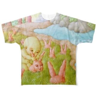 収穫 Full graphic T-shirts
