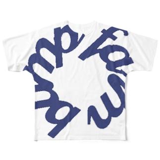 BUMP FARMのフルグラフィック Full graphic T-shirts