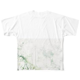 harucamera ユキヤナギ Full graphic T-shirts
