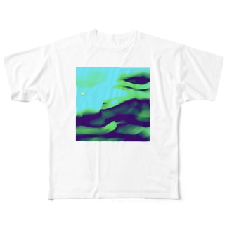 Green people friends pic Full graphic T-shirts