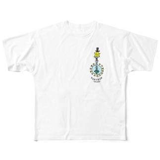 solfeel ソル・フィールのYUKIRIN SALON Full graphic T-shirts
