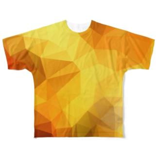 POLYGONその2 Full graphic T-shirts