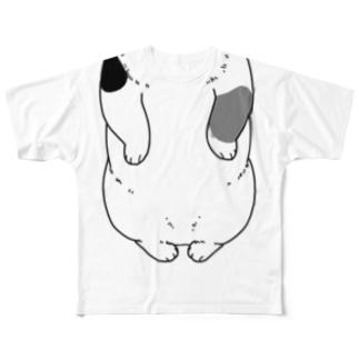猫になるTシャツ Full graphic T-shirts