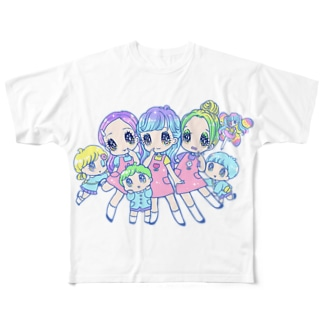 完全ウソツキ❤️超応援Tシャツ(数量限定!) Full graphic T-shirts