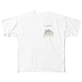 ハムケツ丸 Full graphic T-shirts
