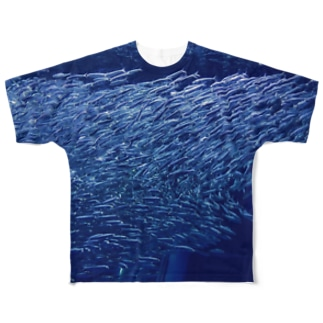 魚群シャツ Full graphic T-shirts