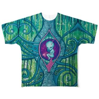~胎児の夢Tシャツ~ Full graphic T-shirts