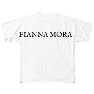 FIANNAMÖRAロゴ Full graphic T-shirts