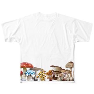 はまッシュ! バナー風 Full graphic T-shirts