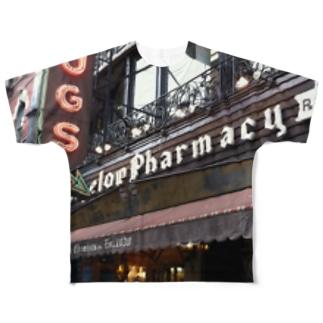 NYCドラッグストア Full graphic T-shirts