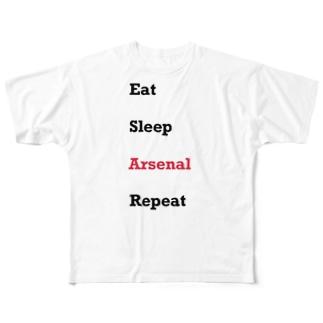 Goonerの日常 Full graphic T-shirts