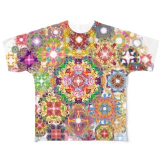 SAIHATE MANDALA Full graphic T-shirts