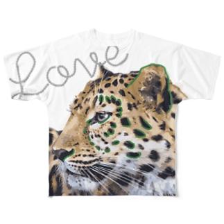 レギンスおすすめTシャツ Full graphic T-shirts