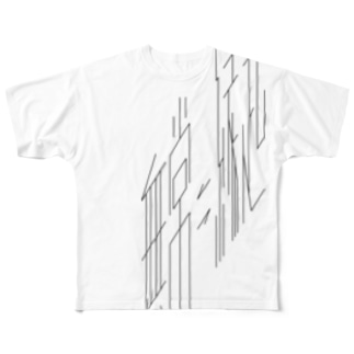 無常/縁起 Full graphic T-shirts
