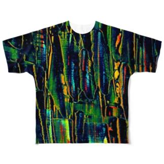夕陽 Full graphic T-shirts