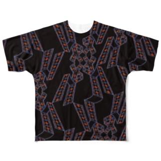 frinaのギローシュ Full graphic T-shirts