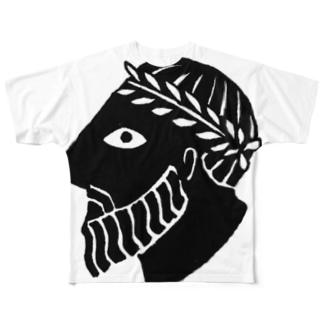 ローマ皇帝 Full graphic T-shirts