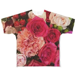JADEM BALLETのFlower Full graphic T-shirts
