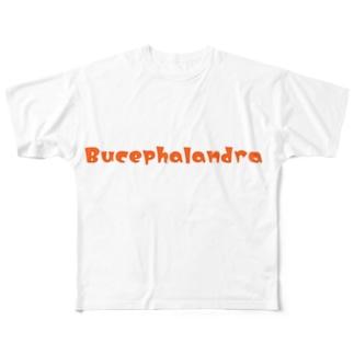 ブセファランドラロゴグッズ Full Graphic T-Shirt
