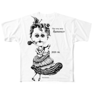 kouji-komatsuの大変セクシーなフラメンコ Full graphic T-shirts