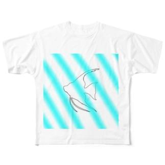 エンゼルの夏 Full graphic T-shirts