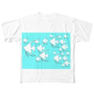 真夏のエンゼル Full graphic T-shirts