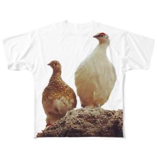 雷鳥 Full graphic T-shirts
