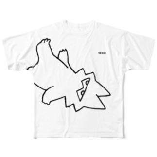 【エポッくん】ライカ Full graphic T-shirts