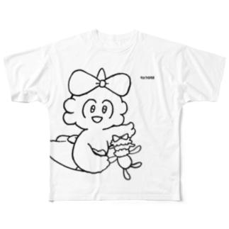 【エポッくん】ルチア Full graphic T-shirts