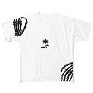 弥勒 Full graphic T-shirts