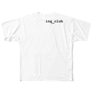 サコツにイング Full graphic T-shirts
