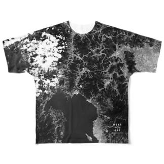 長崎県 東彼杵郡 Tシャツ 両面 Full graphic T-shirts