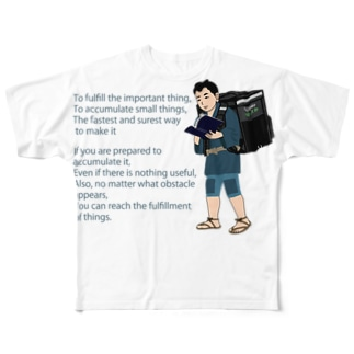 Uber金次郎 Full graphic T-shirts