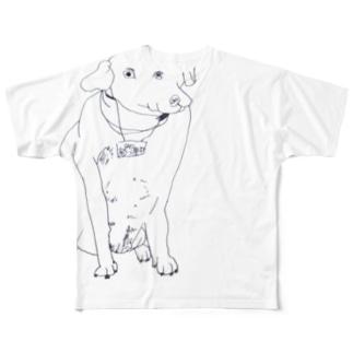 厶1号、ベッツ Full graphic T-shirts