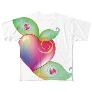 ガラスの林檎 Full graphic T-shirts