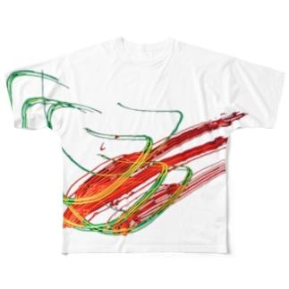 電蟲 Full graphic T-shirts