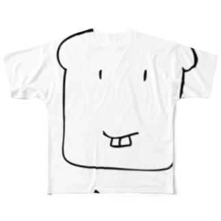 【まえばパン】 by こてつ Full graphic T-shirts