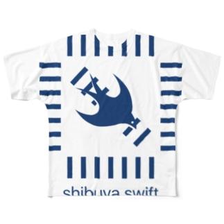 shibuya.swift Full graphic T-shirts