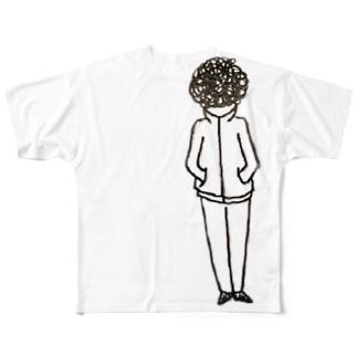 アフロ Full graphic T-shirts