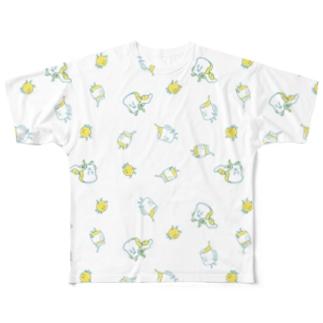 さわやかな朝 Full graphic T-shirts