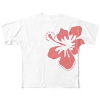 SHONAN HULA★GIRL Full graphic T-shirts