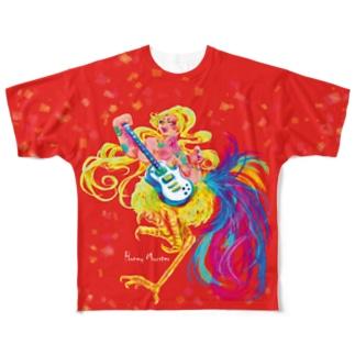 かなでる!キンナラちゃん! Full Graphic T-Shirt