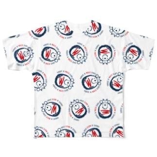 CT42ナイスクンB Full graphic T-shirts
