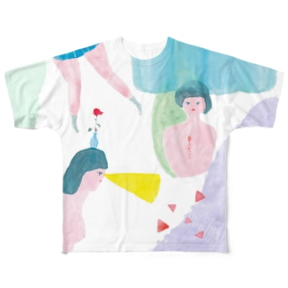 夢で逢えたら Full graphic T-shirts