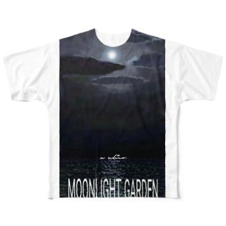 moonlight garden 02 Full graphic T-shirts