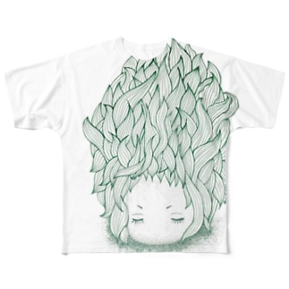 女の子1(S・M) Full graphic T-shirts