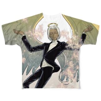 AandD メタトロン(前面のみ) Full graphic T-shirts