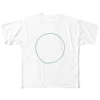 MARU-緑 Full graphic T-shirts