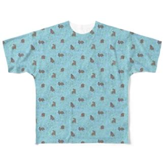 チョコミント Full graphic T-shirts